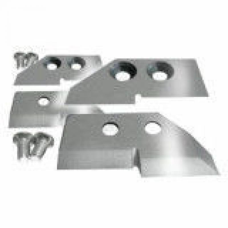 Ножи для ледобура ступенчатые универсальные 130мм в блистере