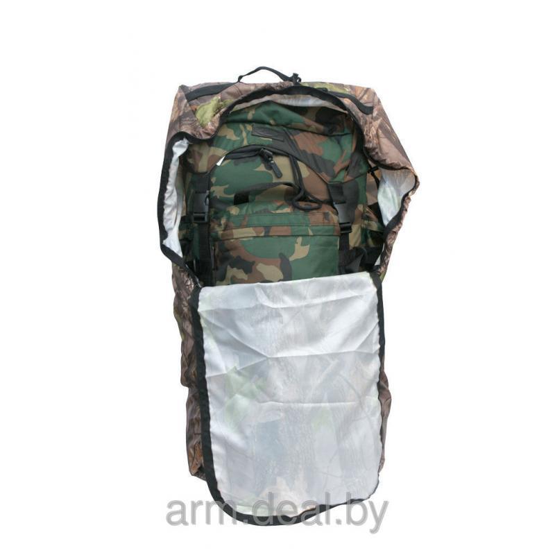 Дождевик для рюкзака 50-70 литров (Лес)