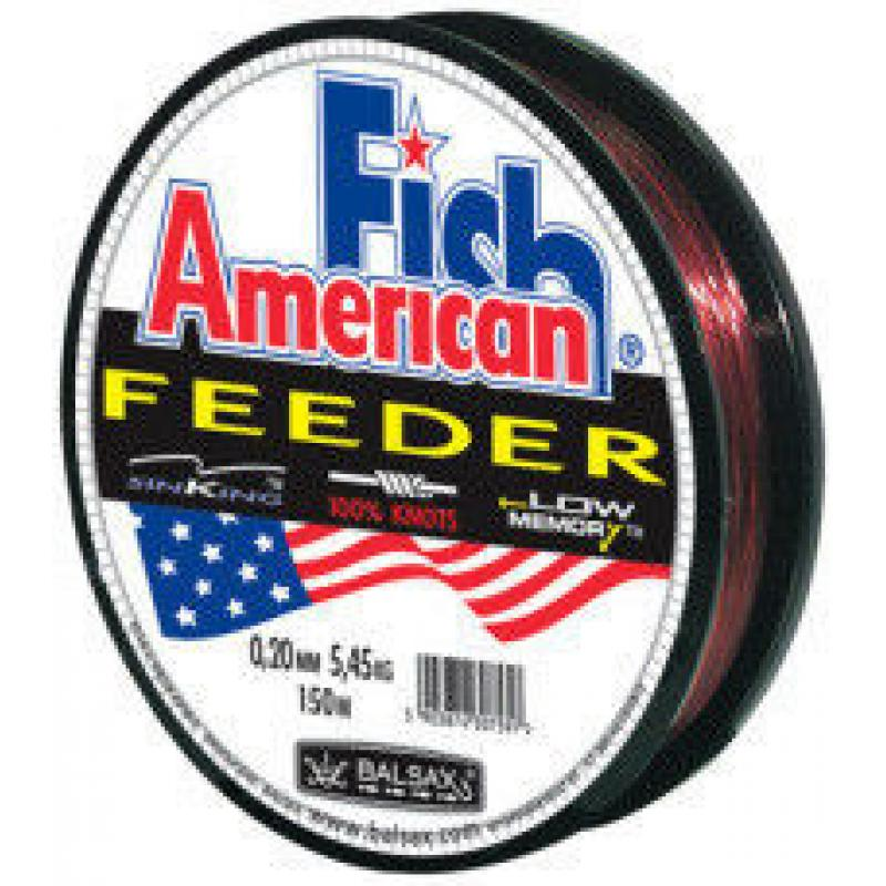 "Леска ""American Fish"" 150м  0.35; 0.40;(14.4кг;17.5кг)"