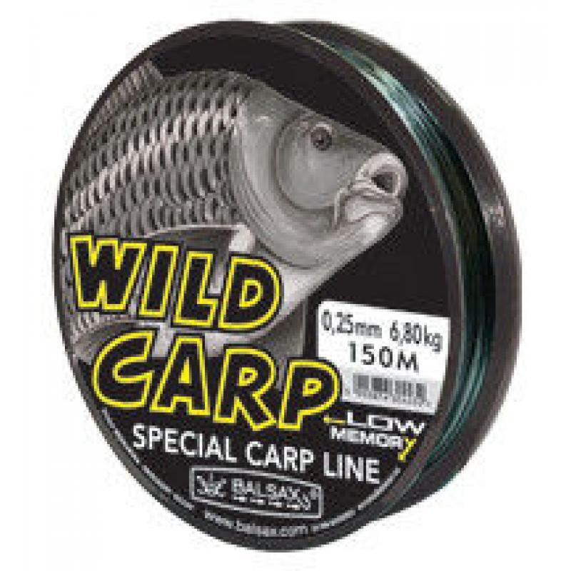 Леска BALSAX Wild Carp 150м 0.18 мм монофильная