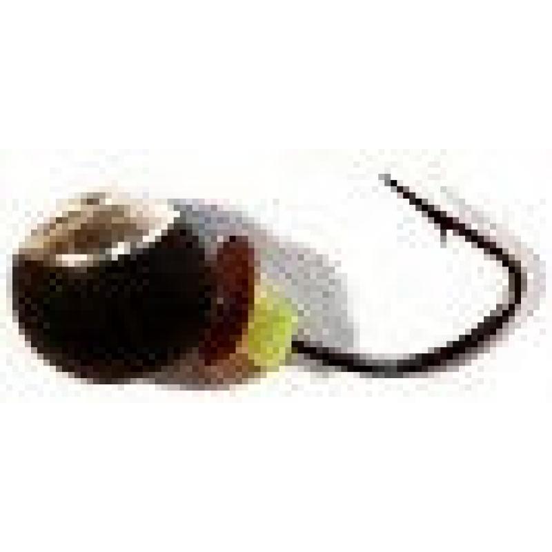 Дробь 2.5 с коронкой (мормышка вольфрамовая)