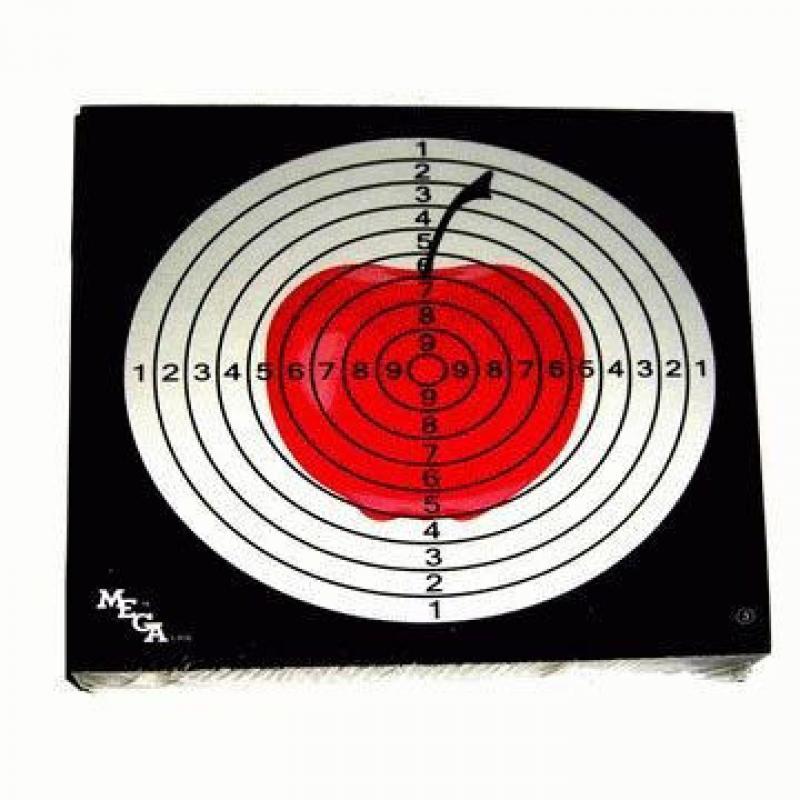 """Мишень """"Remington"""", цветная (яблоко, 50 шт.)"""