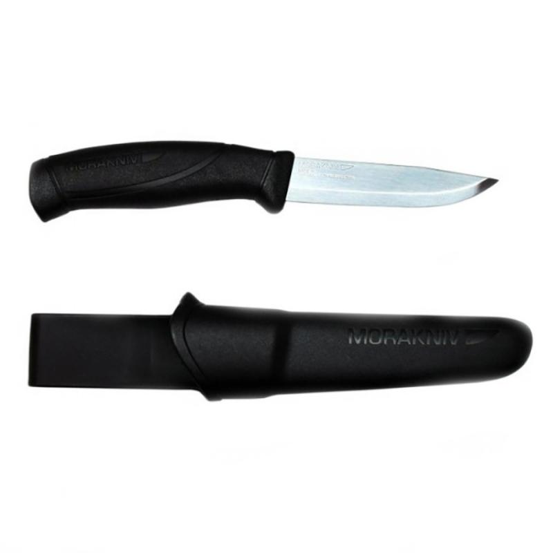 Нож Morakniv Companion Black, нержавеющая сталь
