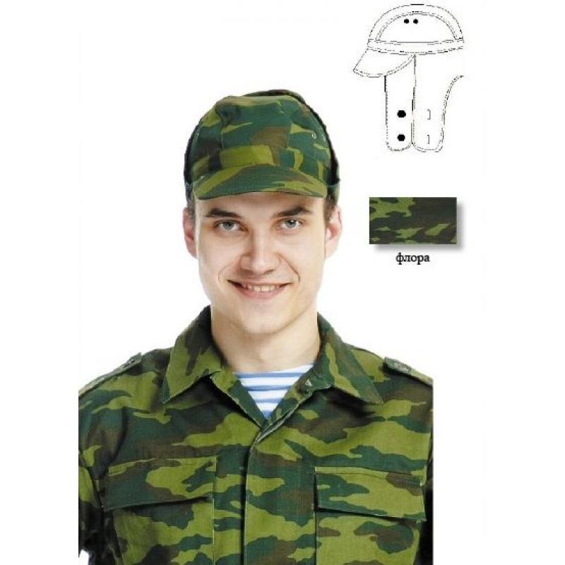 Кепка армейская камуфлированная
