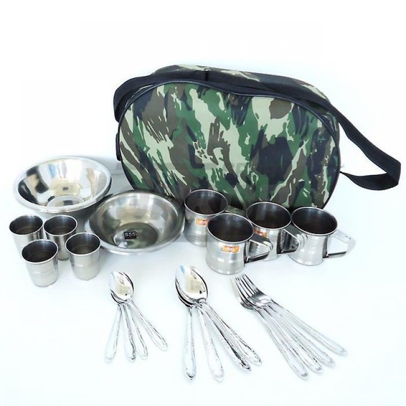 """Набор  посуды """"Пикник"""" на 4 персоны 28 предметов"""