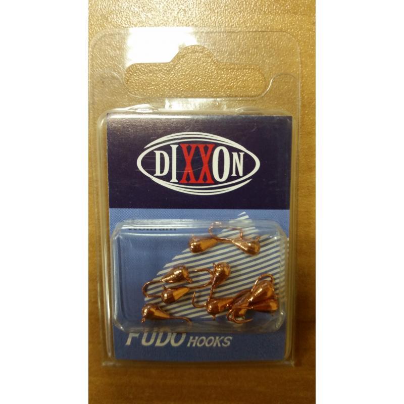 Мормышка вольфрамовая DIXXON Капля с ушком 3.0 мм, медь