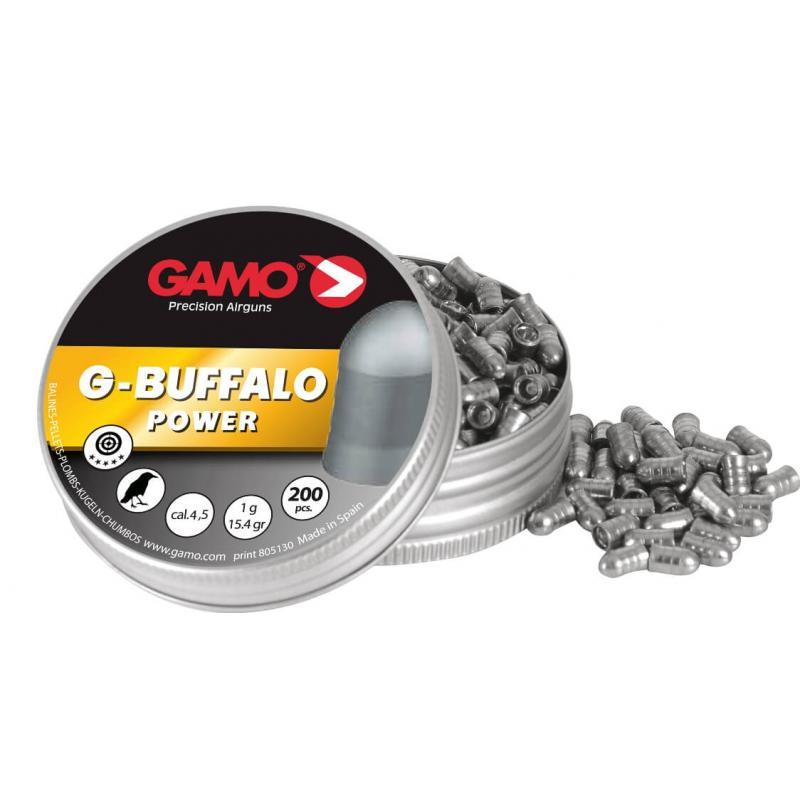 Пули пневматические GAMO G-Buffalo 4,5 мм (200 шт.)