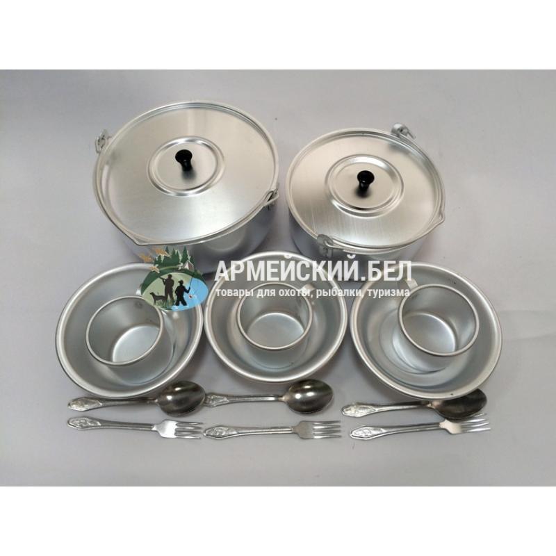 Набор походный алюминиевый МТ096 14 предметов