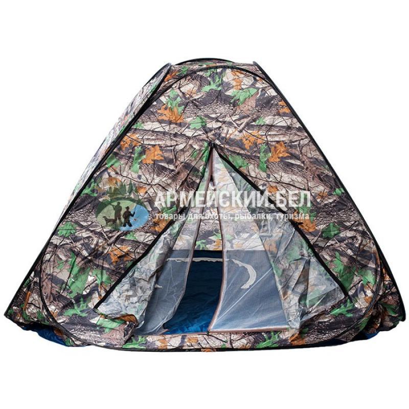 Палатка туристическая трехместная (200*200*140)