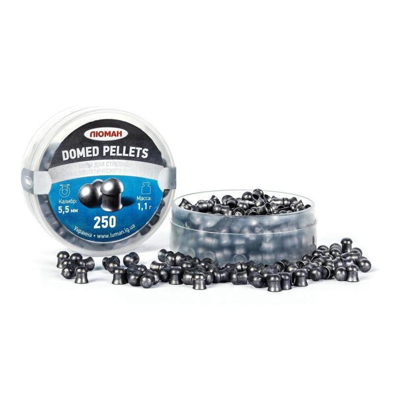 Пули пневматические Люман 5,5мм Domed pellets 1,1 г (250шт)