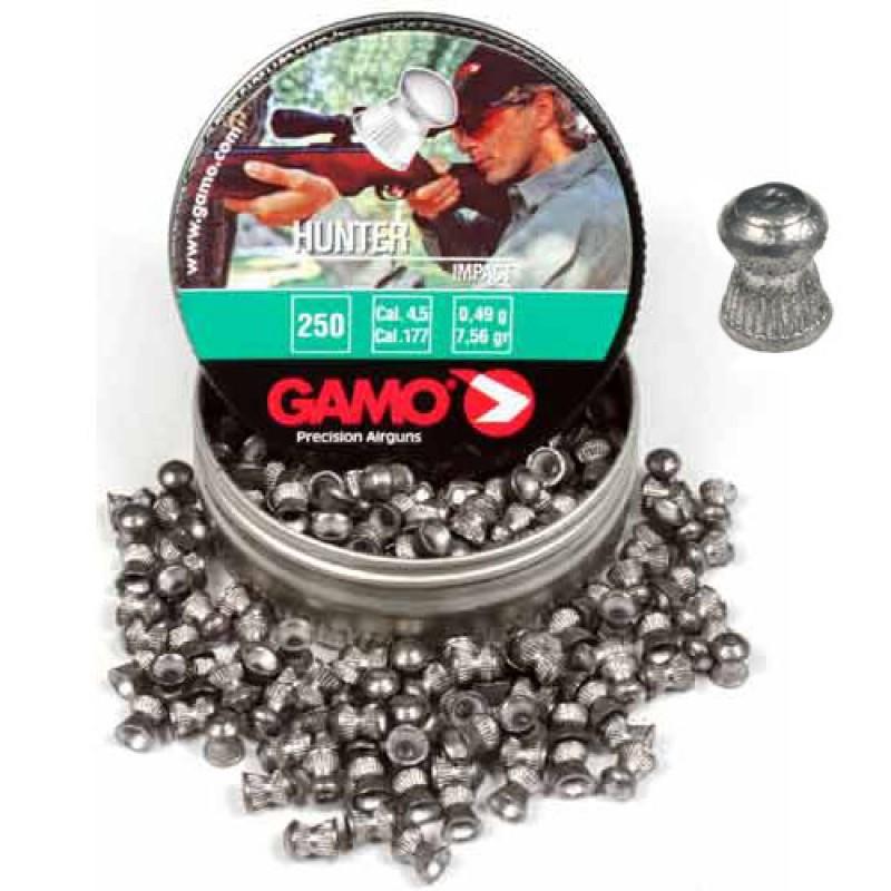 """Пули для пневматики 4,5мм, 0,49 г.""""GAMO Hunter"""" (500шт.)"""
