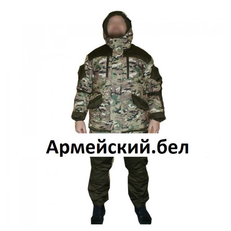 Костюм  Горка 5 мультикам рип-стоп на флисе