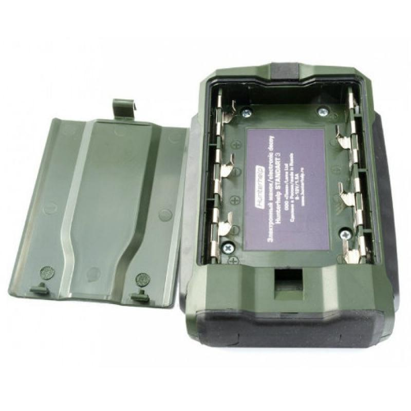 Комплект электронный манок Hunterhelp Standart-3 +фонотека №4 Гуси-утки + динамикTK-9RU + чехол