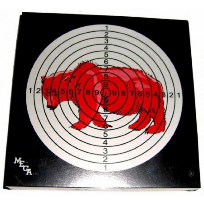 """Мишень Remington цветная  """"Медведь"""" (50 шт.)"""