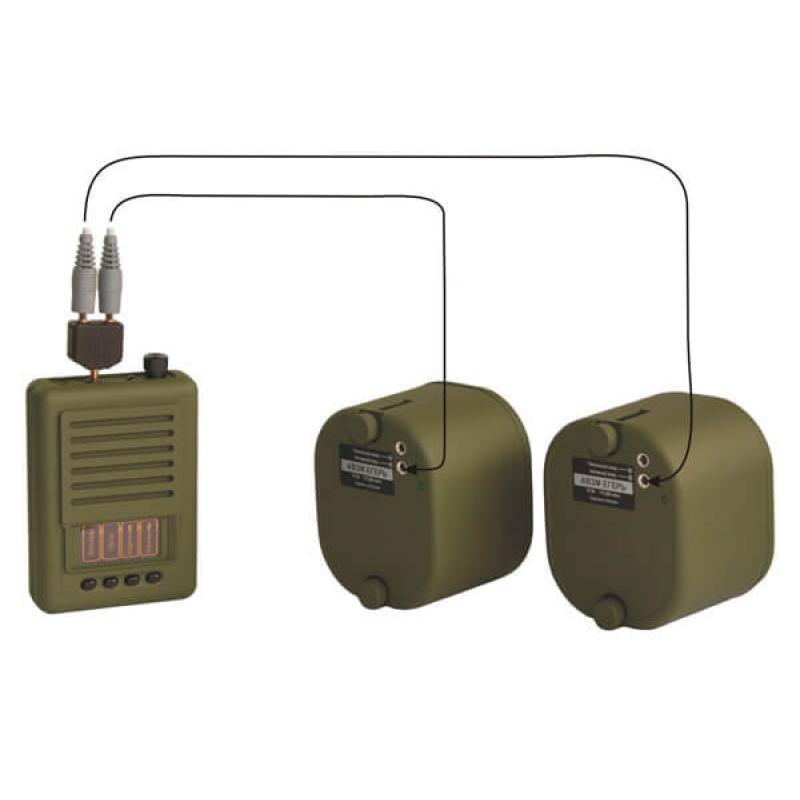 Электронный звукоимитатор Егерь-6М с 2-мя активнымидинамикамиЕгерь (АВЗМ)
