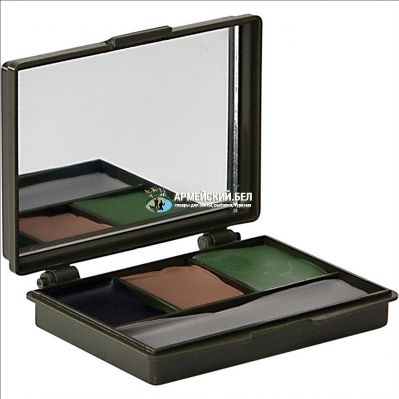 Грим маскировочный Allen 61 (4 цвета-зеленый, коричневый, черный и серый)