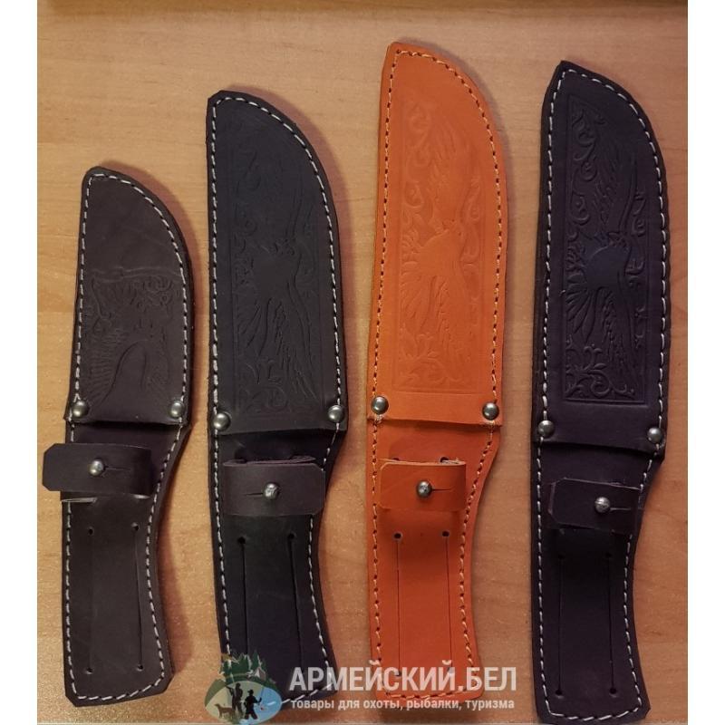 Ножны кожаные (длина клинка 21 см)