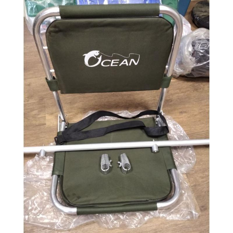 Кресло лодочное складное с опорой