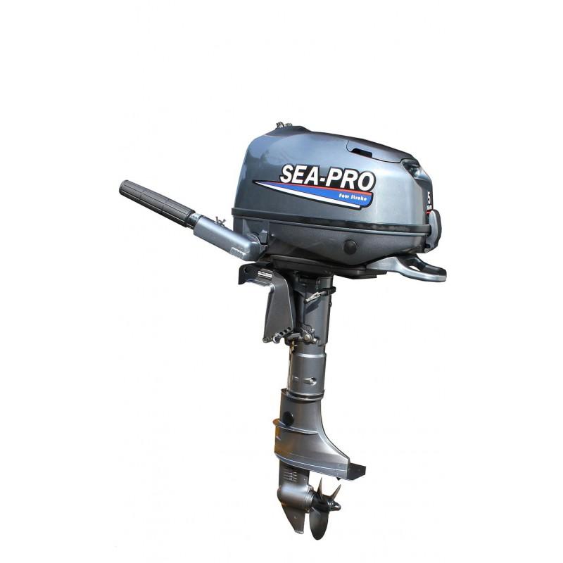 Лодочный мотор Sea-Pro F5S (139 см3), четырехтактный (копияYAMAHA F5)