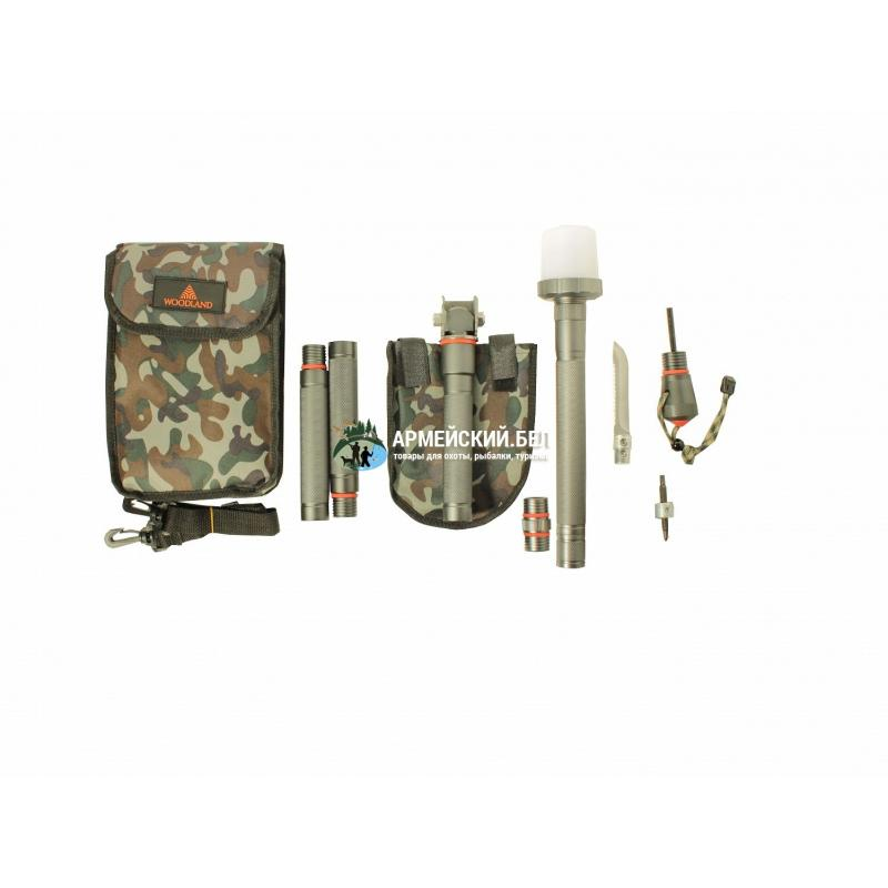 """Лопата многофункциональная 24 в 1 Woodland """"Survival Kit"""""""