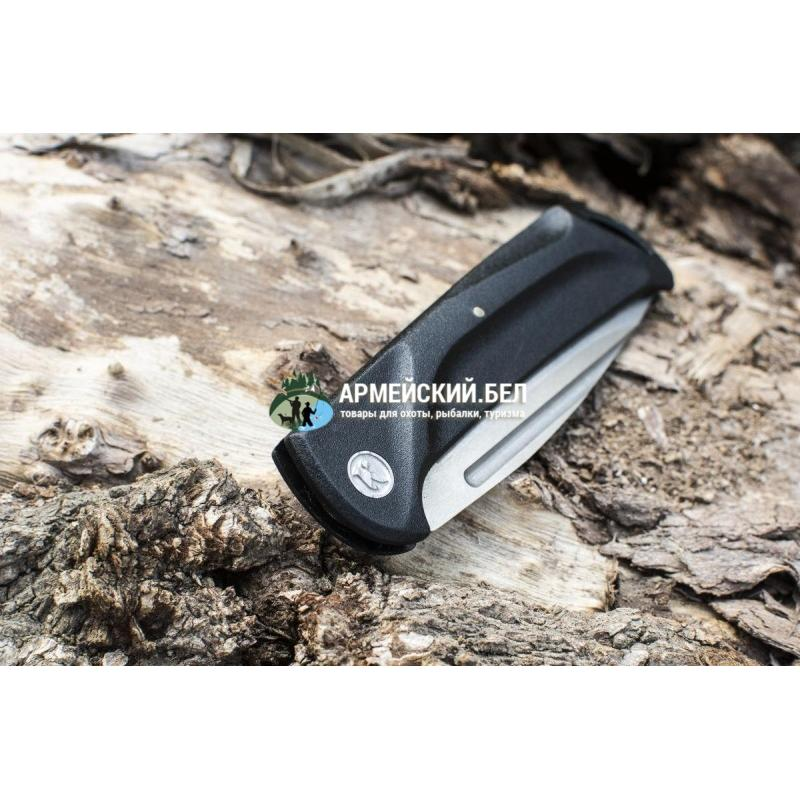 Нож складной Скаут Stonewash Пластик