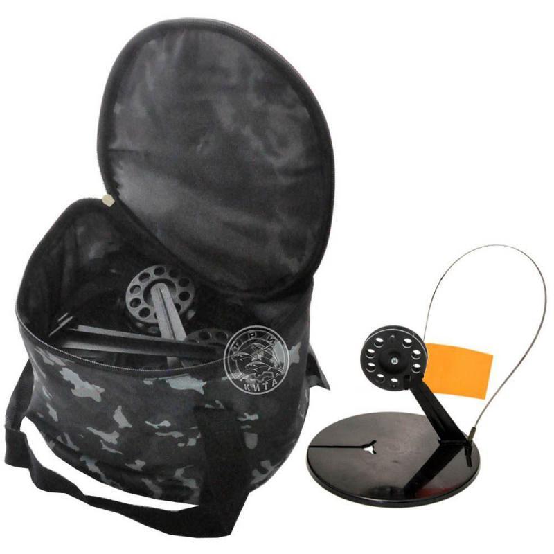 Жерлица зимняя круглая с угловой стойкой в сумке (10 шт.)