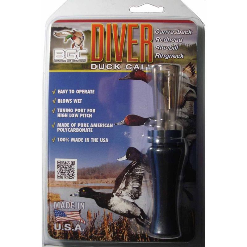 Манок на нырковых уток Buck Gardner Diver Duck Call