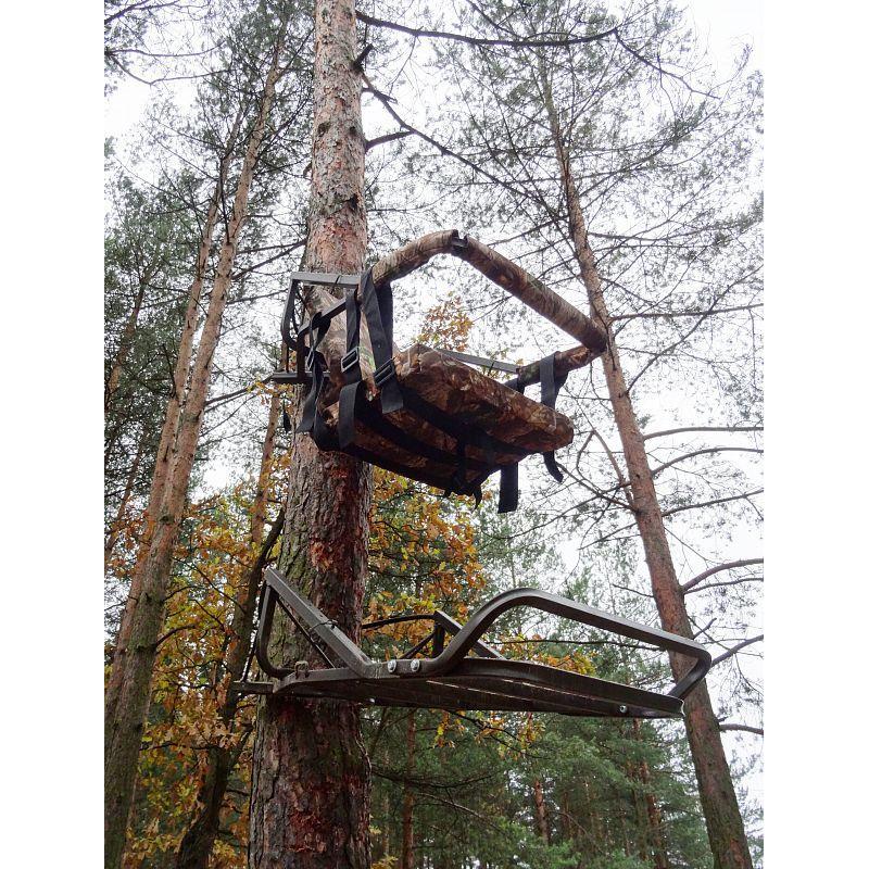 Лабаз-самолаз , не требующий лестницы, сталь, камуфляж Лес
