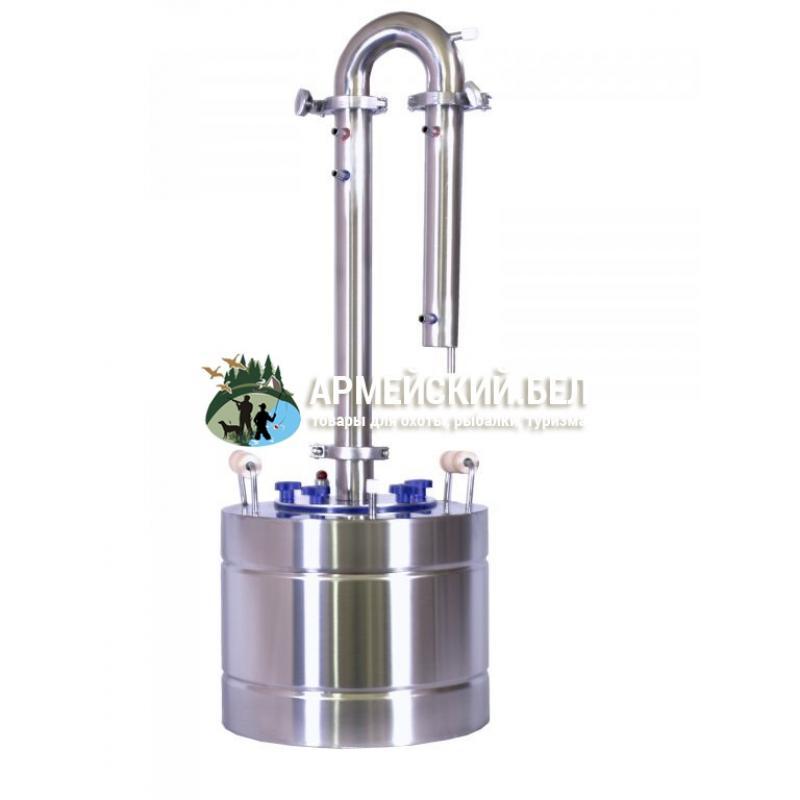 "Дистиллятор ""БУРАН-2"", продукт крепостью до 90% (2 отвода )"