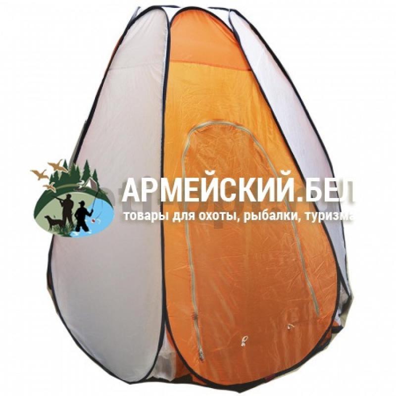 Палатка универсальная автомат, 2,3 м * 2,3 м, оранжевая