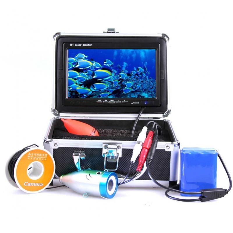 Подводная камера для рыбалки (видеоудочка) Профи-кейс 15+DVR