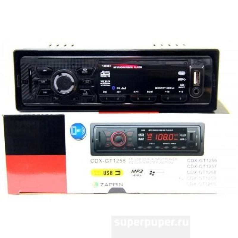 Автомагнитола Pioneer CDX-GT1259BT (Bluetooth)