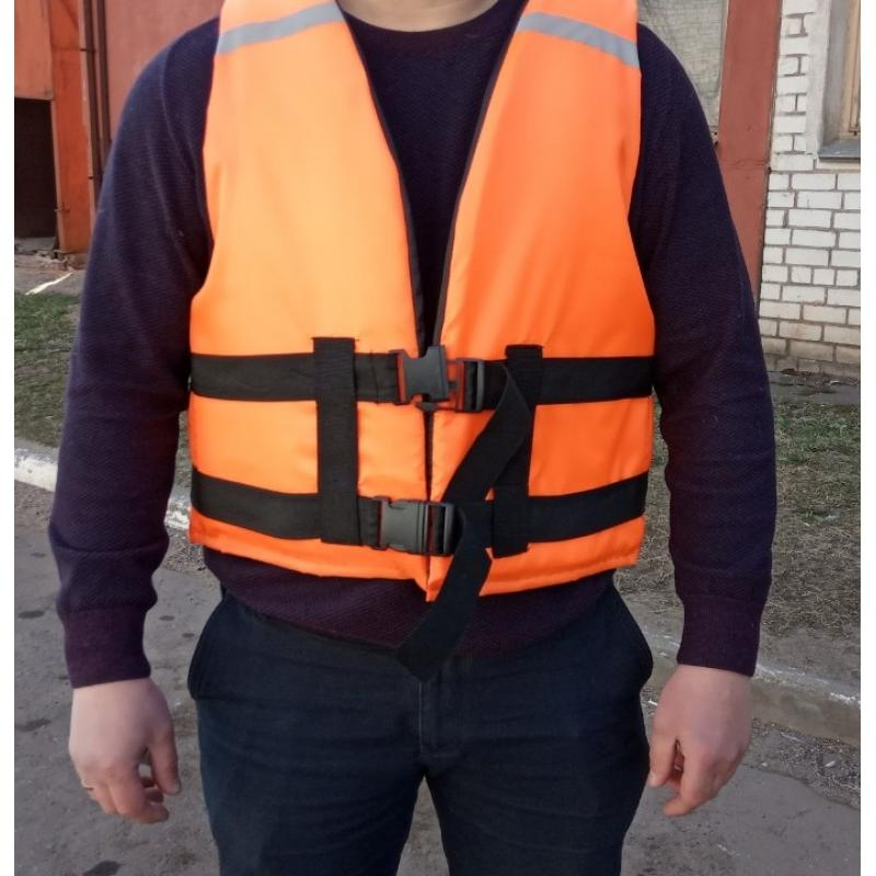 Жилет спасательный рыболовный (до 100 кг)