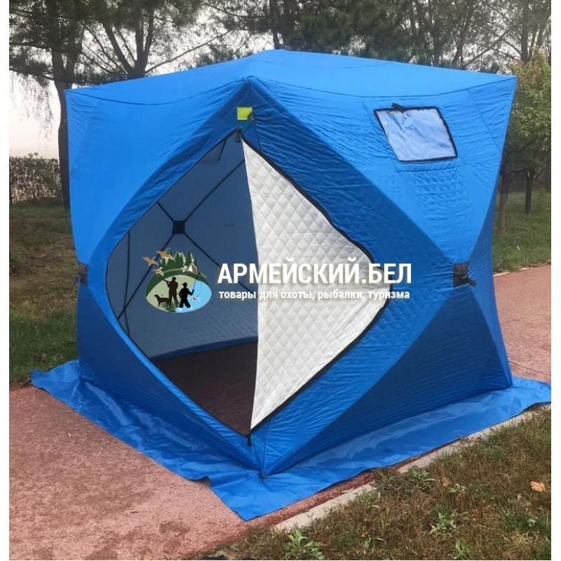 Трехслойная Палатка куб Traveltop 1620A  (200х200х215 см), утепленная
