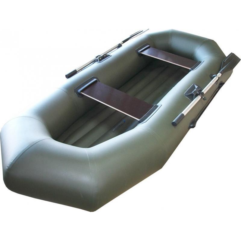 Надувная гребная лодка ARGO А-260 НД (надувное дно)