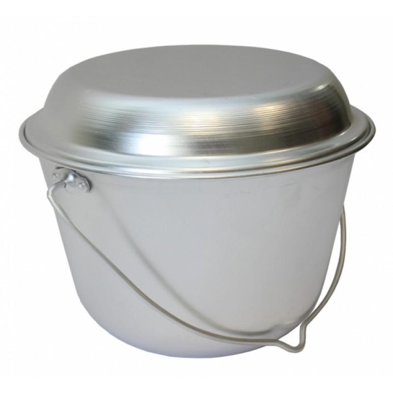 Котелок конический 6 л с крышкой сковородой
