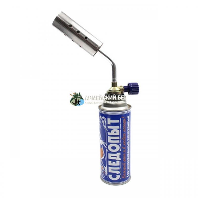Горелка газовая портативная Cледопыт GTP-N07, с газогенератором