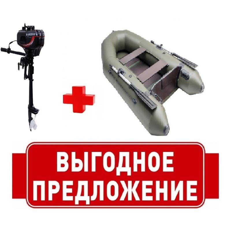 Комплект Лодка ПВХ М260 + Мотор 3.5  л.с.