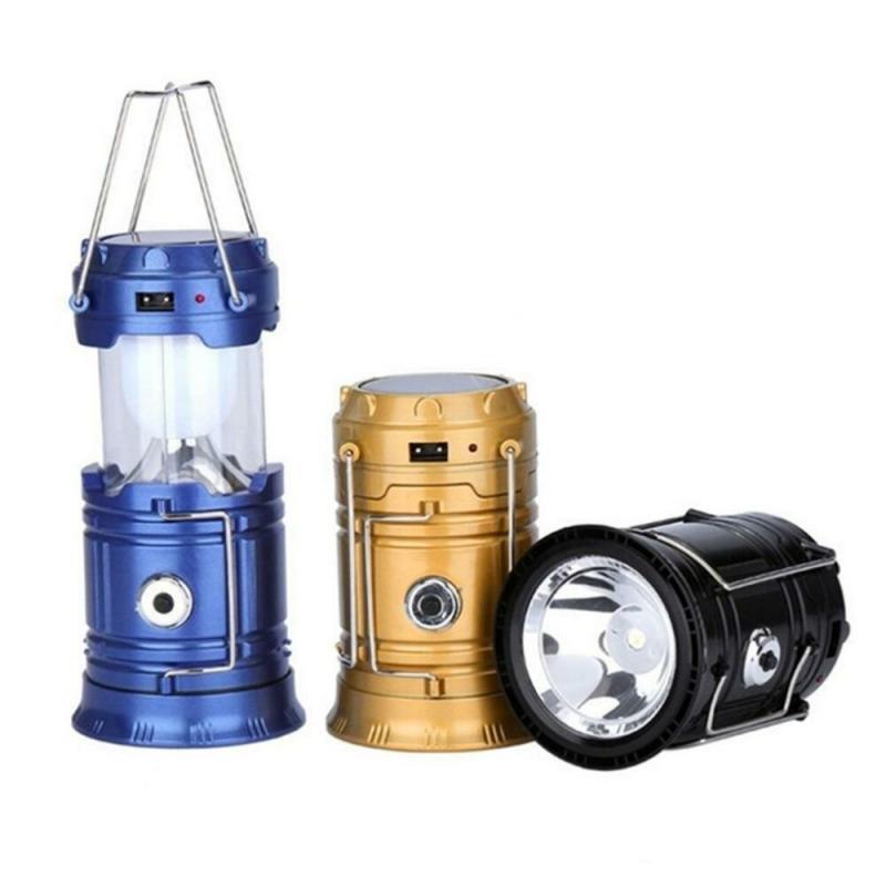 Кемпинговый светодиодный  фонарь с солнечной батареей Mini 5700T